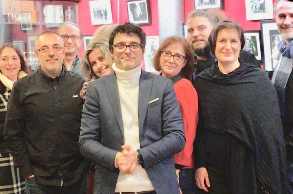 Soirée sur les réseaux sociaux avec Franck Cofino