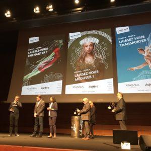 30ème CAP COM : Prix de la Créa pour la communication mutualisée du Kiasma et de l'Agora