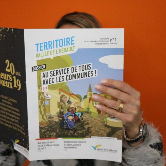 Nouveau magazine pour la Communauté de communes Vallée de l'Hérault